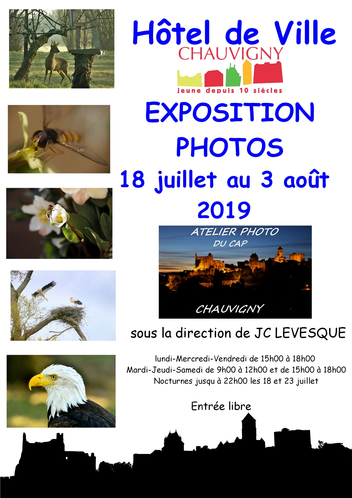 affiche expo cap 2019 LIGHT